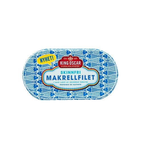 King Oscar Mackerel Fillet in Tomato Sauce 170g