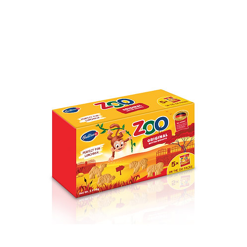 Bahlsen Zoo Multipack Biscuits 5s x 30g
