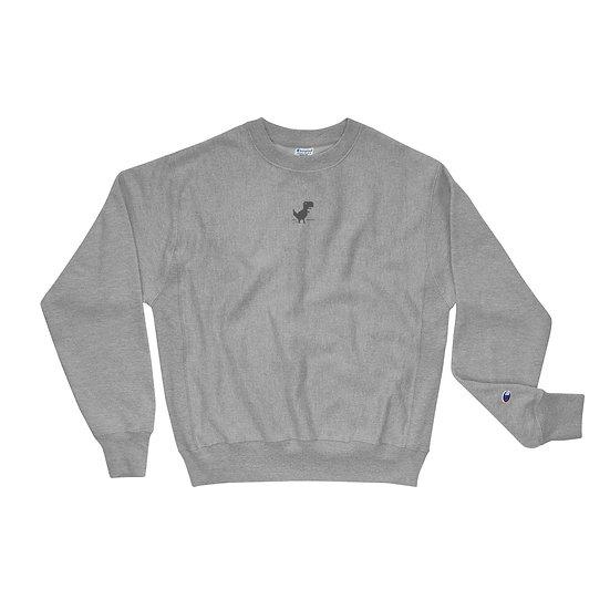No Internet Dino Geek Culture Tech Champion Sweatshirt