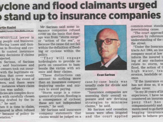 Unfair Rejection of Cyclone Insurance Claims