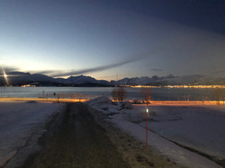 Beautiful view in Tromsø