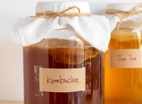 Kombucha - 5 Reasons to Start Drinking it