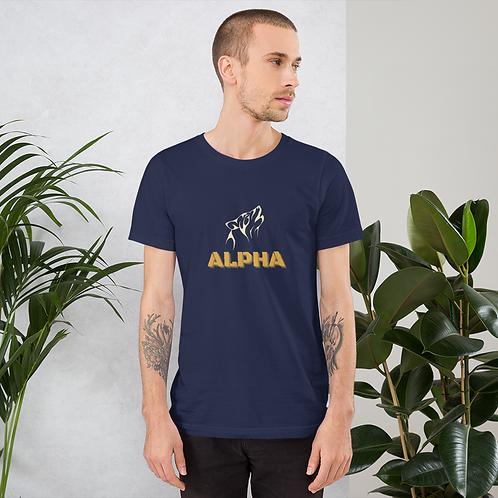 'Alpha' Short-Sleeve Unisex T-Shirt