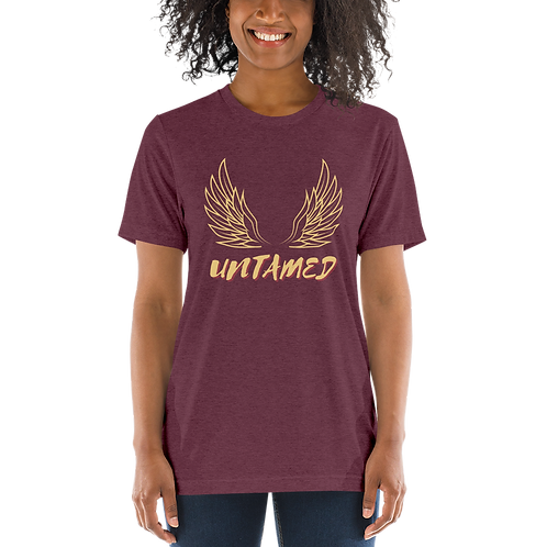 'Untamed' Yellow Short sleeve t-shirt