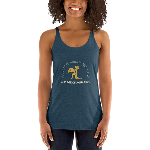 Aquarius Women's Racerback Tank