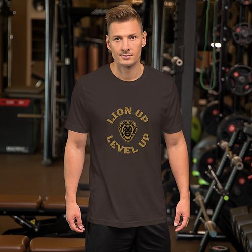 'Lion Up' Short-Sleeve Unisex T-Shirt