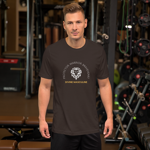 'Divine Masculine' Short-Sleeve Unisex T-Shirt