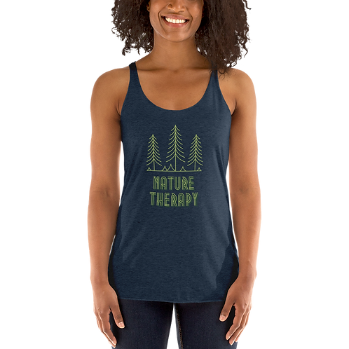 Nature Therapy Women's Racerback Tank