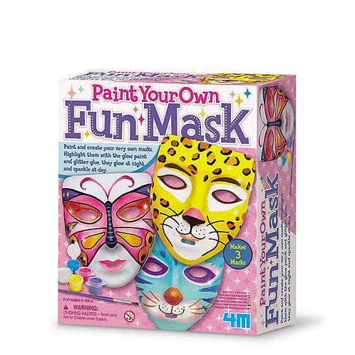 Manualidades :  Pinta tu propia mascara