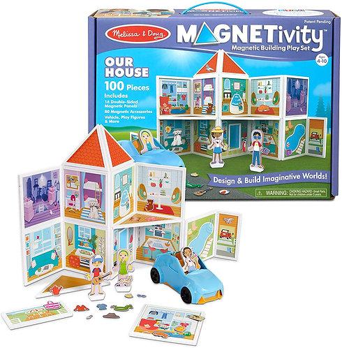 Set De Construcción Magnético Nuestra Casa