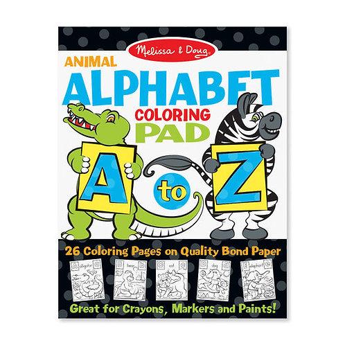 Cuaderno para colorear alfabeto