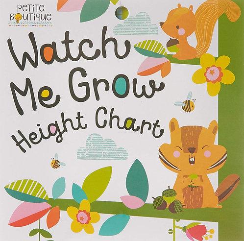 Tabla De Medición Watch Me Grow Height Chart