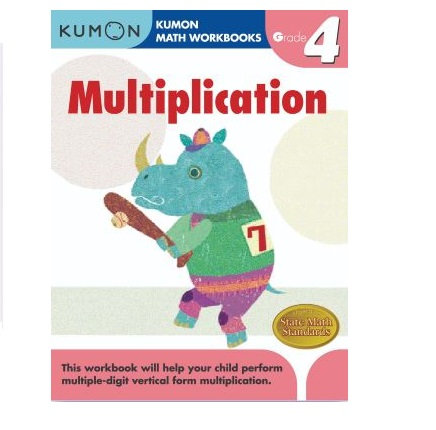 Libro Kumon Multiplication grade 4