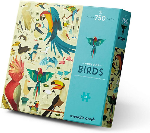Rompecabezas 750 Piezas Mundo de las Aves
