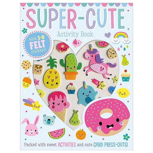 Libro De Manualidades Super Cute Activity Book