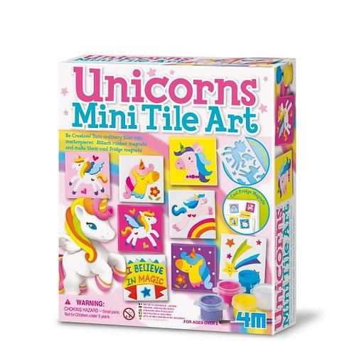 Kit para moldear y pintar imanes de unicornio