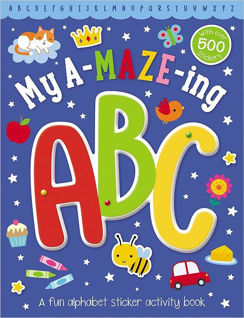Libro De Actividades My A-Maze-Ing ABC