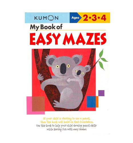 Libro Kumon My Book Of Easy Mazes