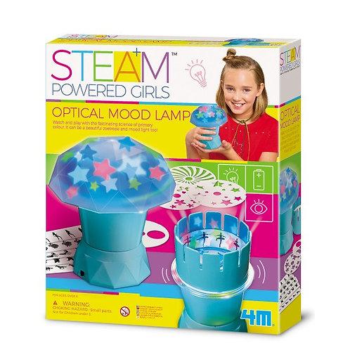 Experimento de juguete :  Diseña tú lámpara óptica