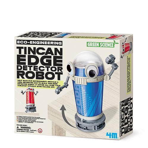 Experimento de juguete :  Robot detector de bordes