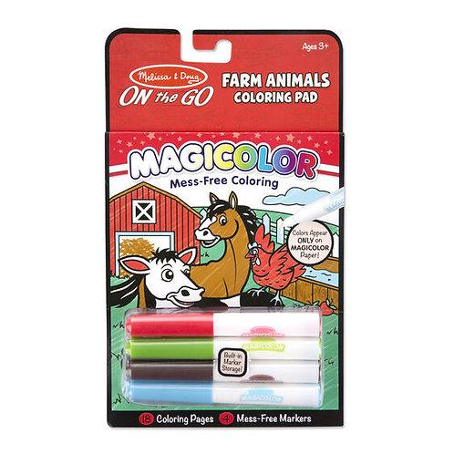 Libro para colorear Animales de la granja