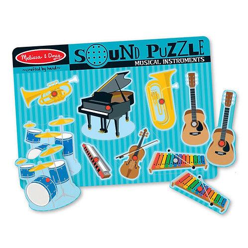 Rompecabezas con sonido: Instrumentos musicales