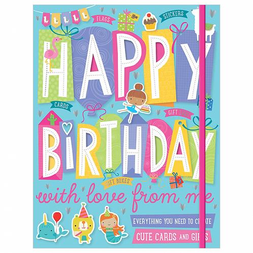Libro de Actividades Happy Birthday With Love From Me