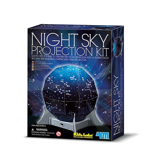 Experimento Proyector de cielo nocturno