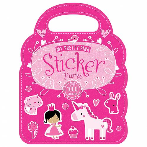 Libro De Actividades My Pretty Pink Sticker Purse