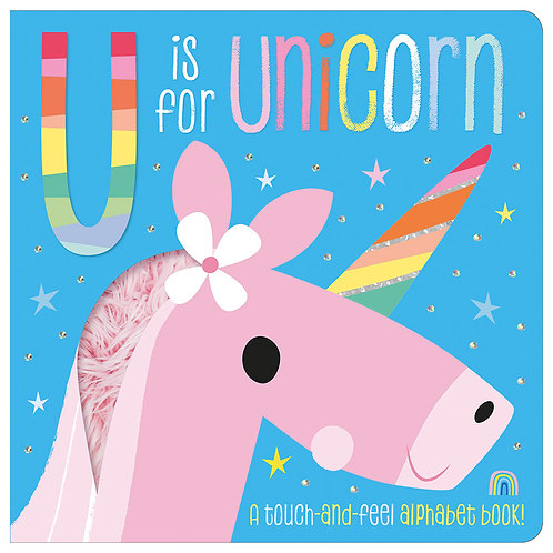 Libro De Texturas U is for Unicorn