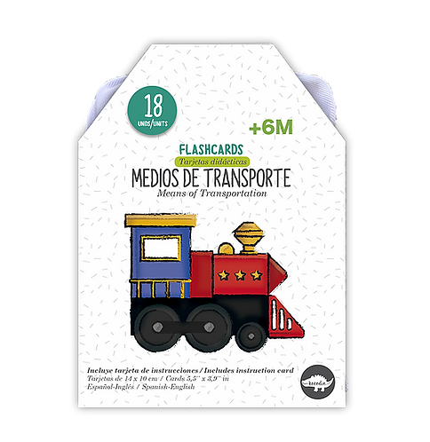 Flashcards Medios de transporte