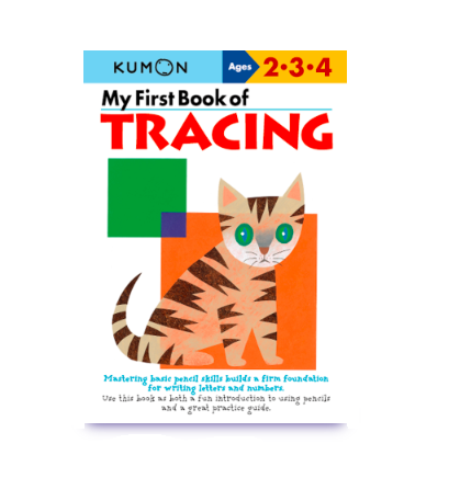 Libro Kumon My first book of tracing