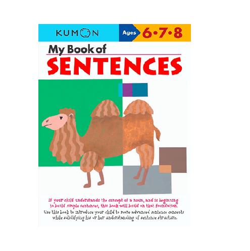Libro Kumon My book of sentences