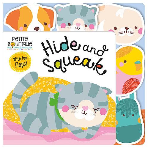 Libro Infantil Petite Boutique Hide And Squeak