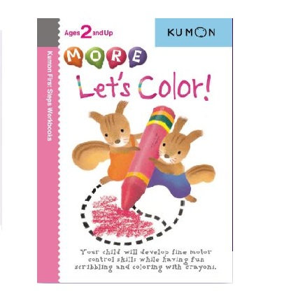 Libro Kumon More Let's color