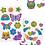 Thumbnail: Kit stickers de la amistad con escarcha