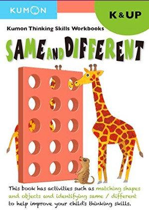 Libro kumon: Kinder-up same different