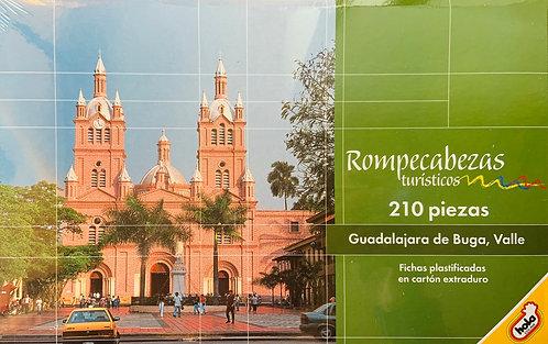 Rompecabezas 210 piezas Guadalajara de Buga, Valle