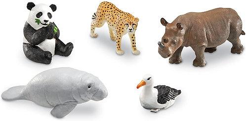 Set De Animales De La Selva Jumbo