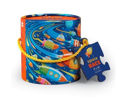 Rompecabezas 24 piezas Carrera espacial