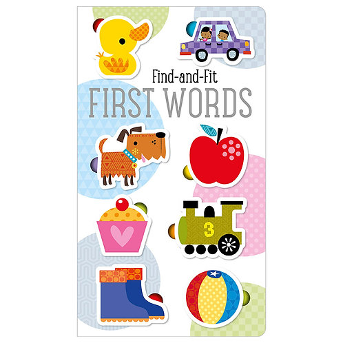 Libro Infantil Find And Fit Firts Words