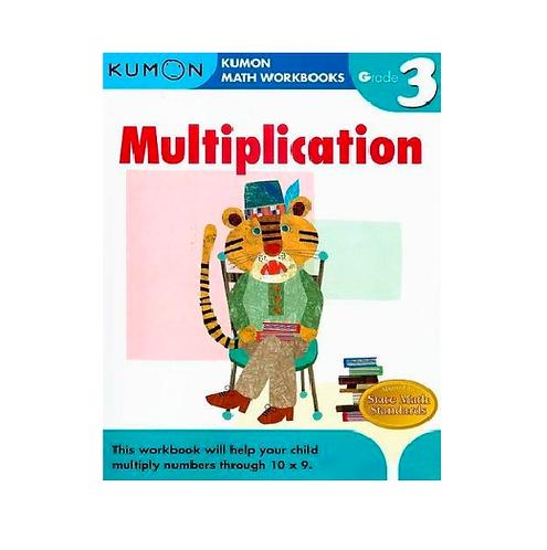 Libro Kumon Multiplication grade 3