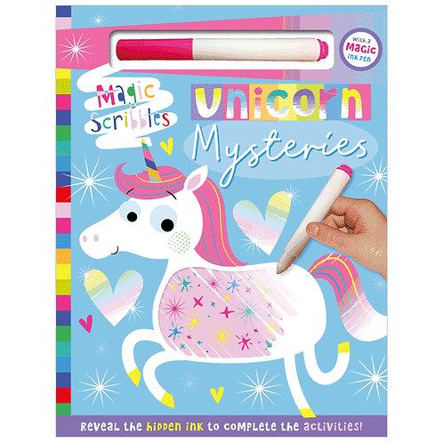 Libro De Actividades Unicorn Mysteries
