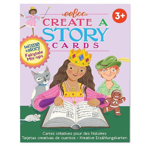 Flashcards para crear historias Cuento de hadas
