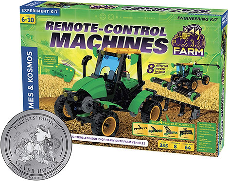Máquinas Agrícolas a Control Remoto 8 en 1