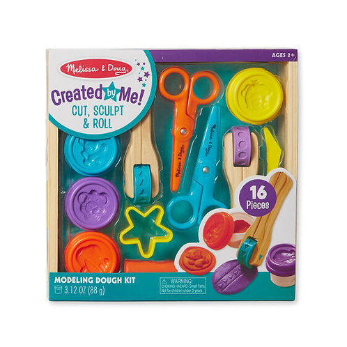 Set de plastilina para moldear y cortar