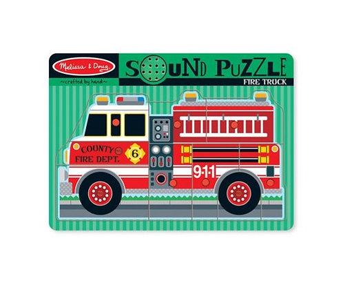 Rompecabezas con sonido: Camión de bomberos