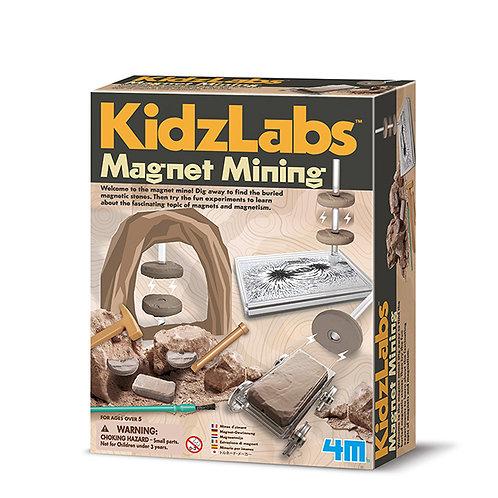 Experimento Minería magnética