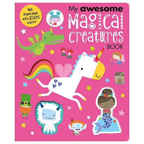 Libro Infantil My Awesome Magical Creatures