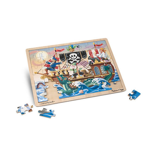 Rompecabezas pirata x 48 piezas
